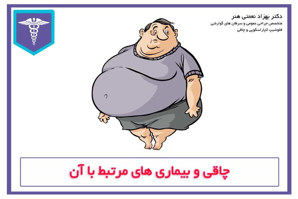 ارتباط چاقی و بیماری