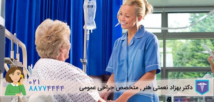 مراقبت های بعد از عمل آپاندیسیت