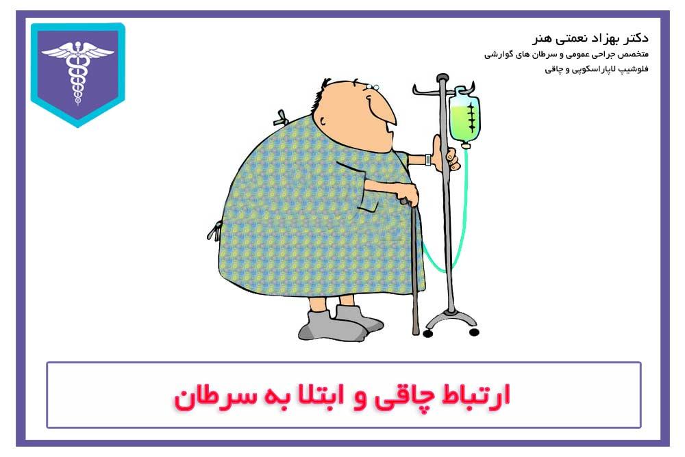 ارتباط چاقی با سرطان